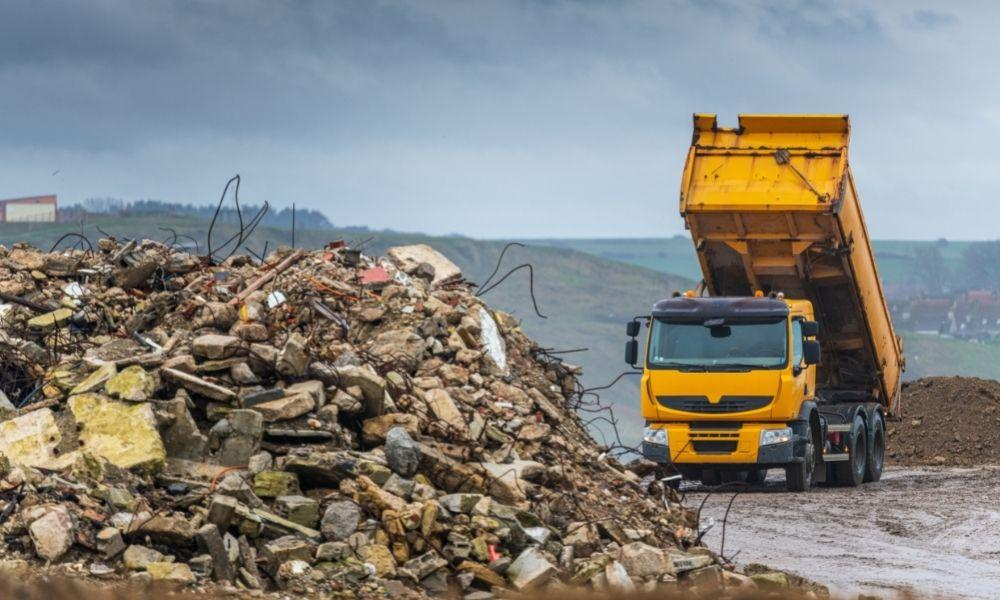 How To Protect Your Dump Truck From Concrete and Rock